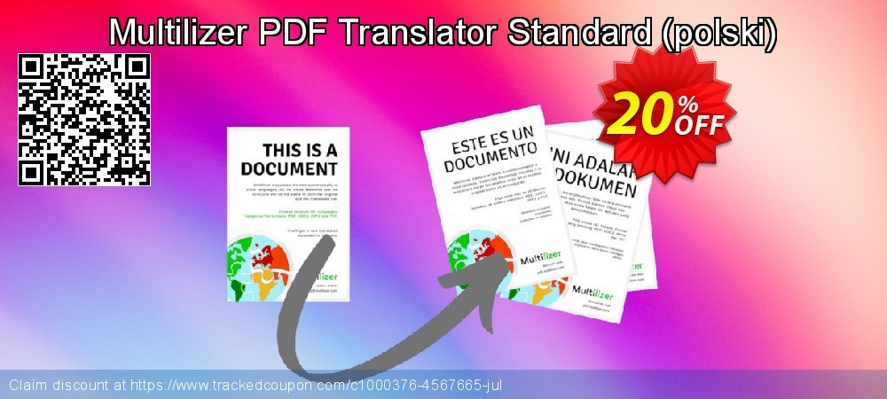 Multilizer PDF Translator Standard - polski  coupon on Natl. Doctors' Day discount
