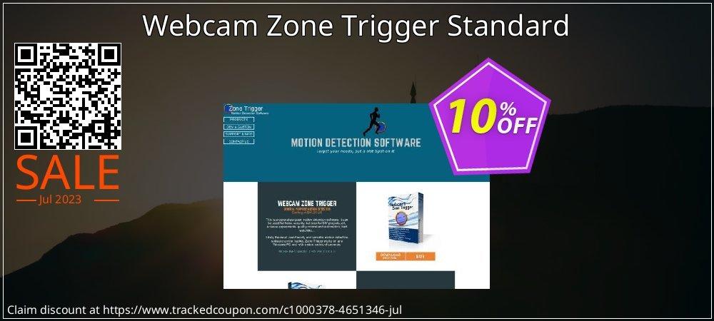 Webcam Zone Trigger Standard coupon on College Student deals deals