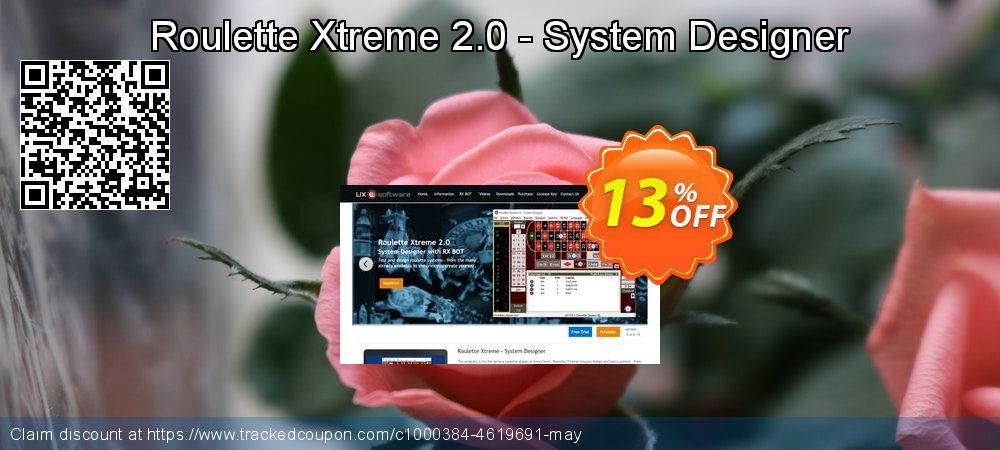 Get 10% OFF Roulette Xtreme 2.0 - System Designer offering sales
