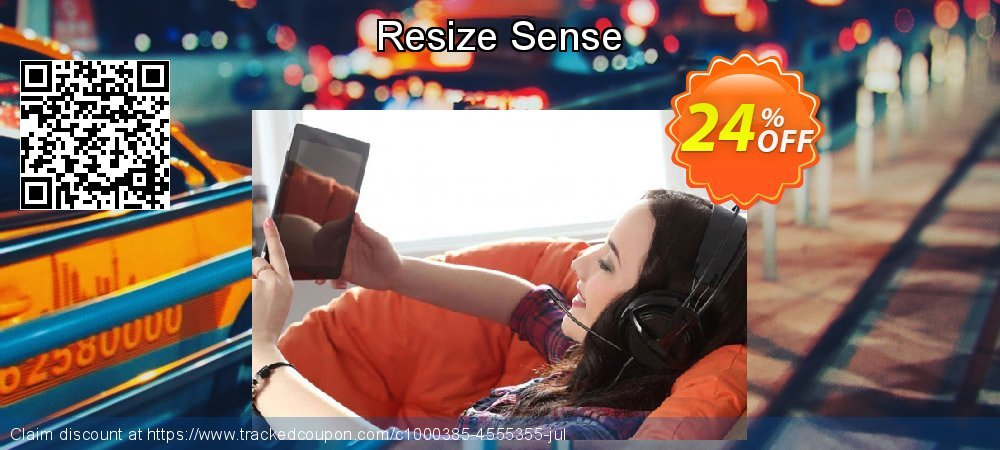 Resize Sense coupon on Valentine Week offering discount