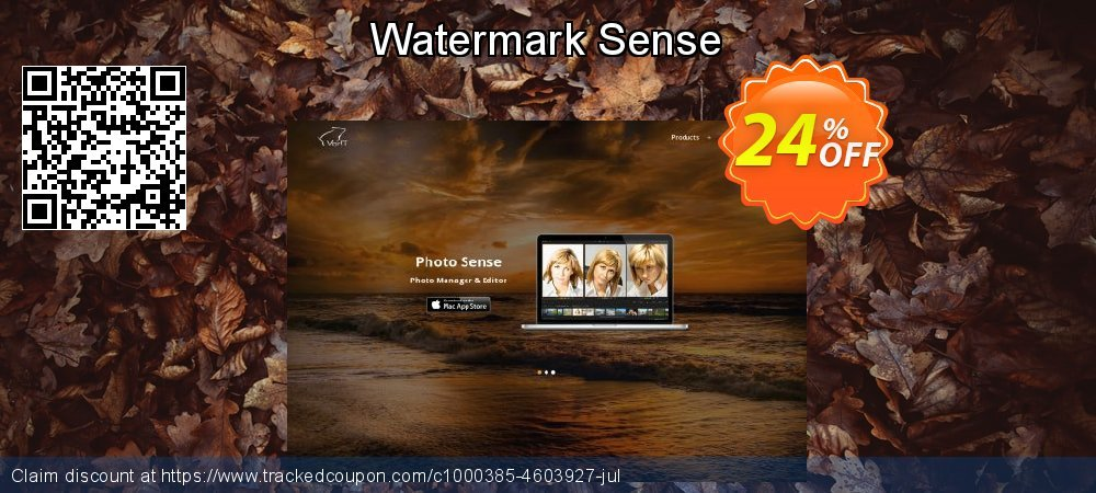 Watermark Sense coupon on Halloween offer