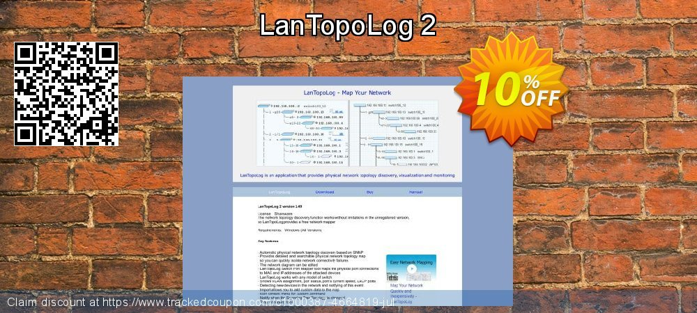LanTopoLog 2 coupon on Valentine's Day discount