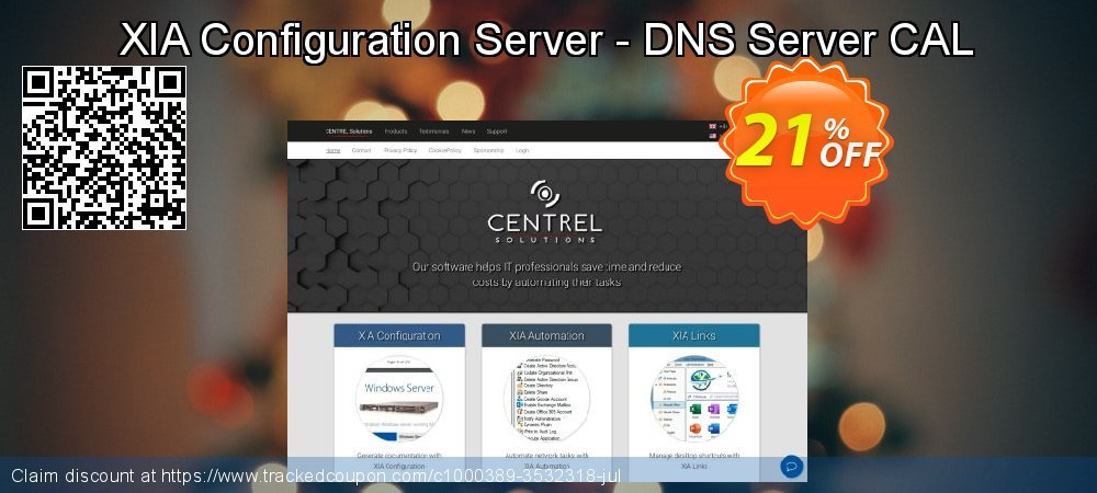 Get 20% OFF XIA Configuration Server - DNS Server CAL offering sales
