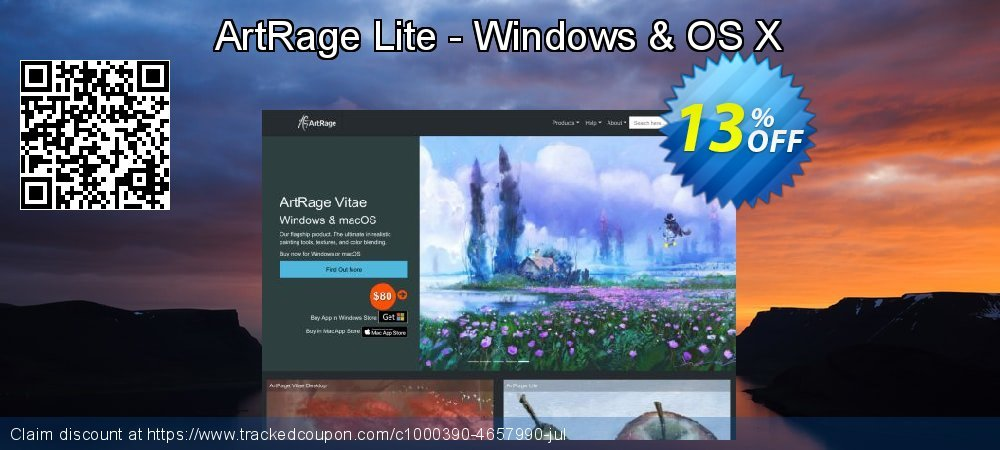 ArtRage Lite - Windows & OS X coupon on Thanksgiving promotions
