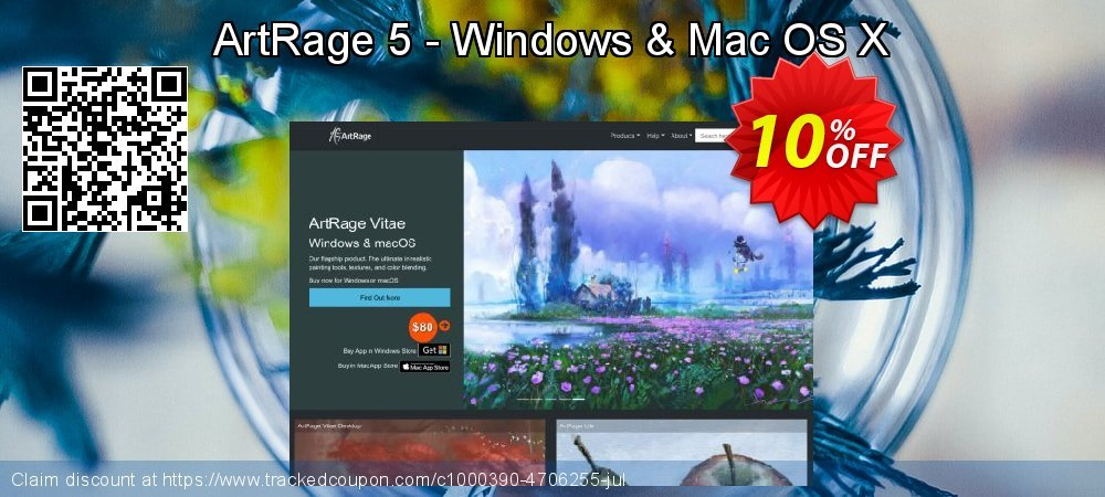 ArtRage 5 - Windows & Mac OS X coupon on Black Friday super sale