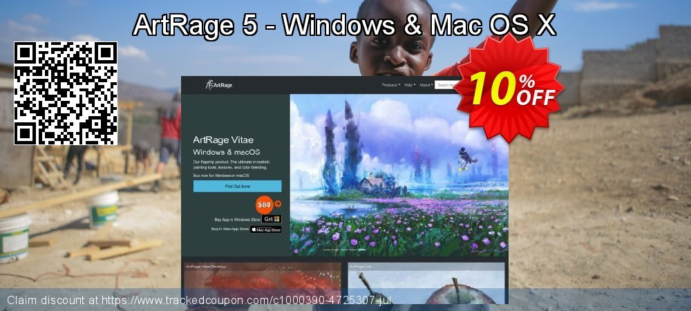 ArtRage 5 - Windows & Mac OS X coupon on US Independence Day deals