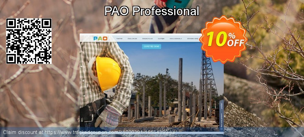 PAO Professional coupon on Back to School promotions deals