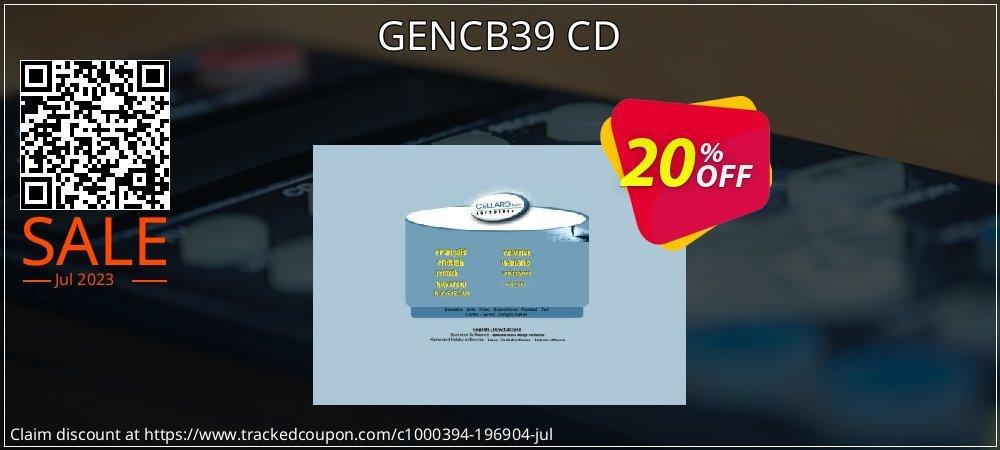 Get 20% OFF GENCB39 CD offering discount