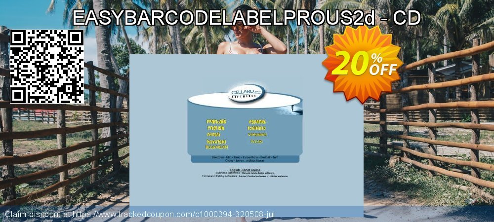 Get 20% OFF EASYBARCODELABELPROUS2d - CD offering sales