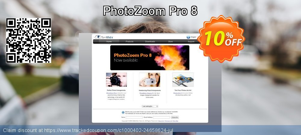 PhotoZoom Pro 8 coupon on 4th of July offering discount