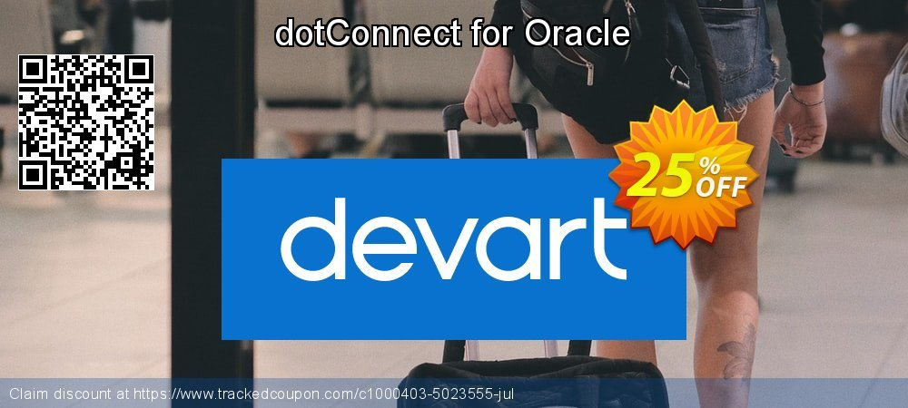 dotConnect for Oracle coupon on Int'l. Women's Day discounts
