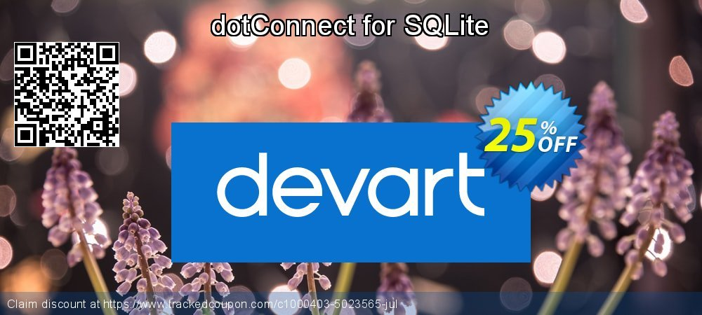 dotConnect for SQLite coupon on Valentine Week discounts
