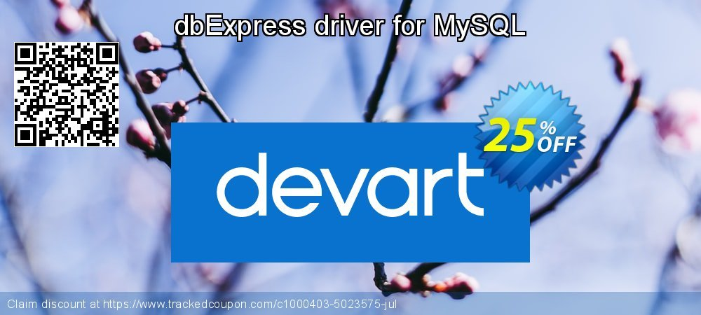Get 10% OFF dbExpress driver for MySQL offering sales