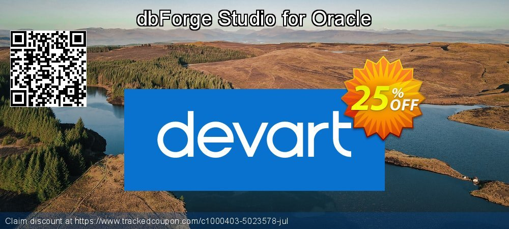 dbForge Studio for Oracle coupon on Natl. Doctors' Day discount