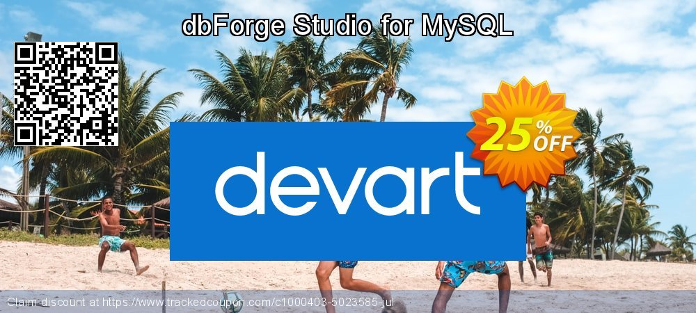 dbForge Studio for MySQL coupon on Int'l. Women's Day deals