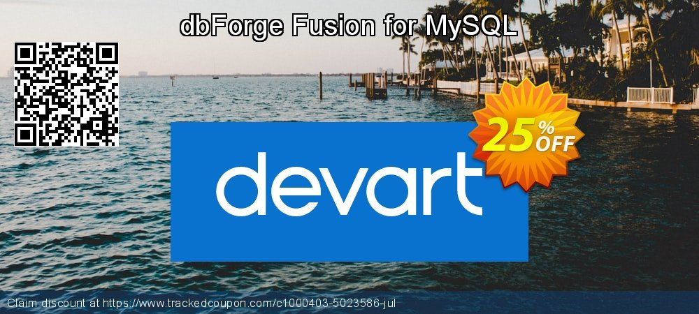 dbForge Fusion for MySQL coupon on National Family Day promotions