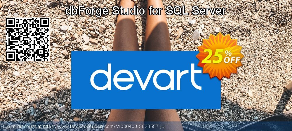 dbForge Studio for SQL Server coupon on Super bowl offer