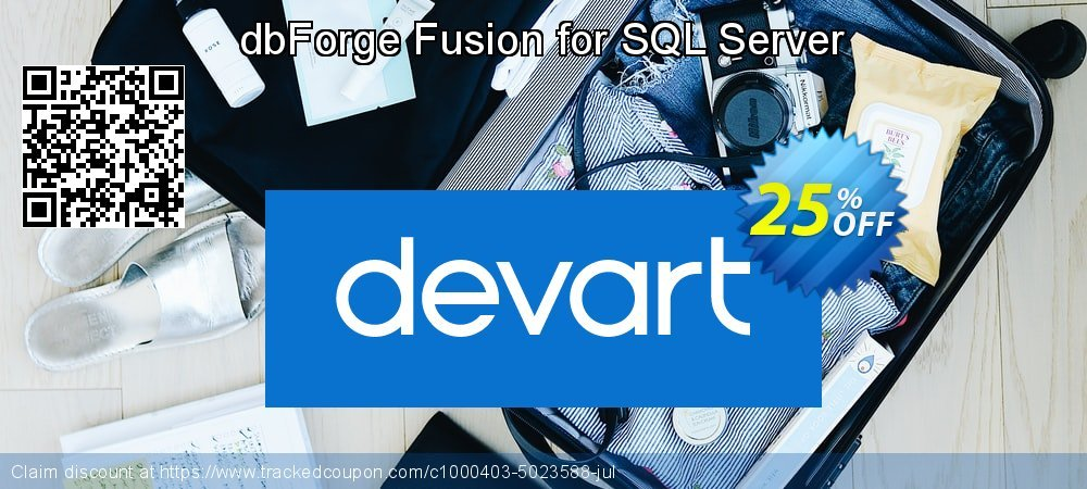 dbForge Fusion for SQL Server coupon on Valentines Day discount