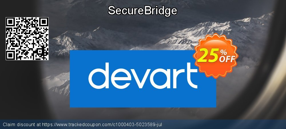 SecureBridge coupon on Valentine's Day offering discount