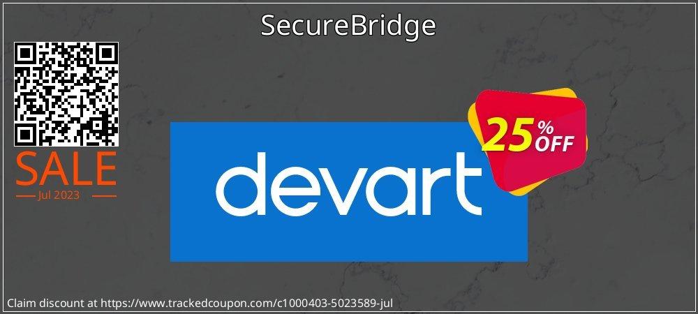 SecureBridge coupon on Autumn offer