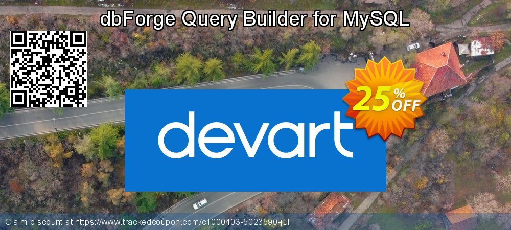 dbForge Query Builder for MySQL coupon on Native American Day discount