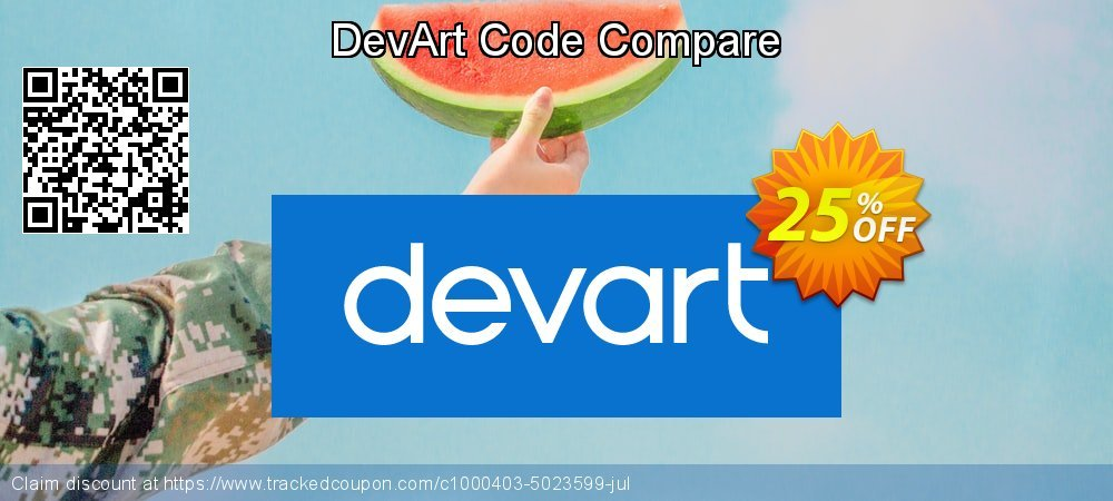 DevArt Code Compare coupon on Valentine's Day offering sales