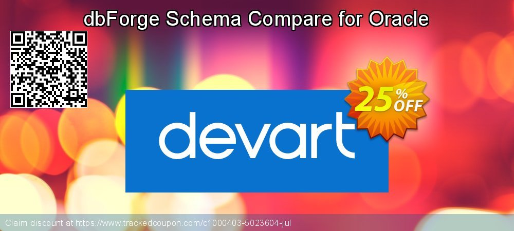dbForge Schema Compare for Oracle coupon on National Coffee Day promotions