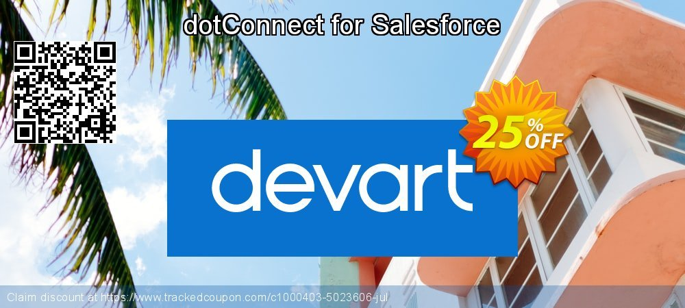 dotConnect for Salesforce coupon on Autumn deals
