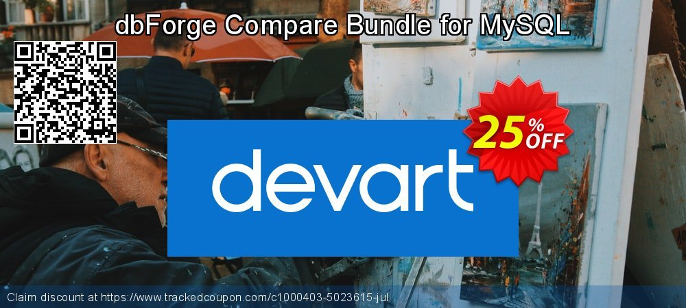 dbForge Compare Bundle for MySQL coupon on Valentine Week discount