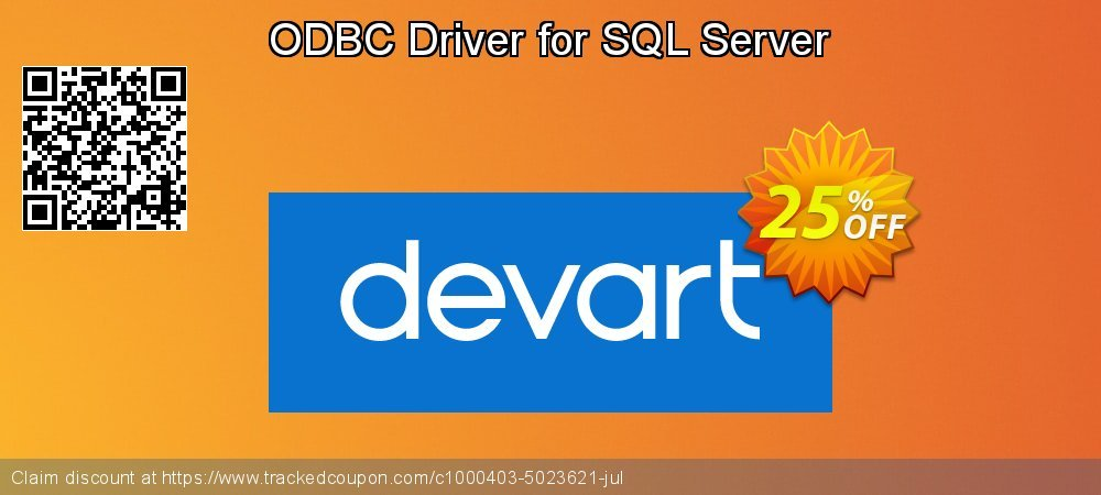 ODBC Driver for SQL Server coupon on Int'l. Women's Day deals