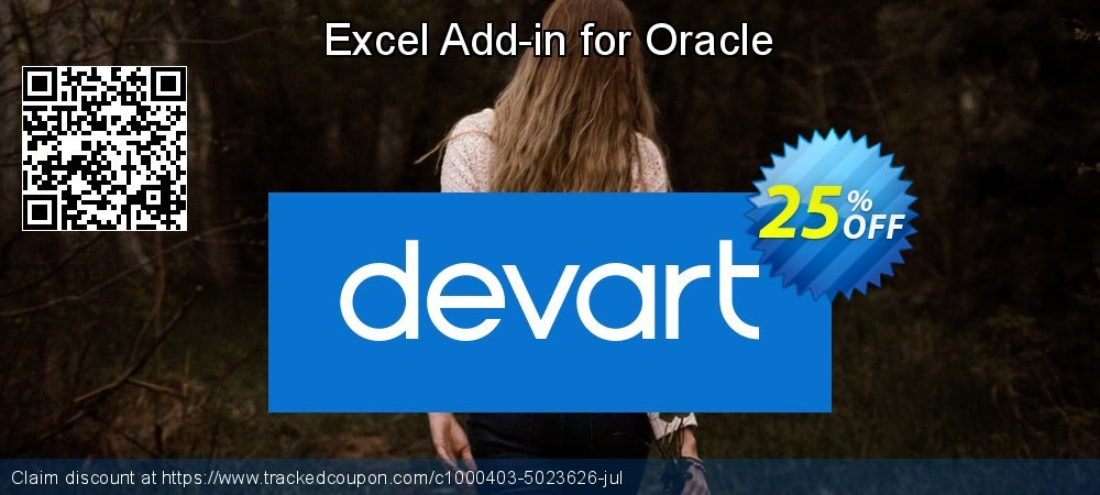 Excel Add-in for Oracle coupon on Natl. Doctors' Day super sale