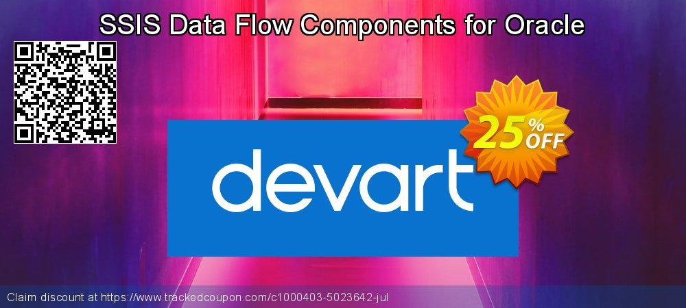 SSIS Data Flow Components for Oracle coupon on Back to School deals