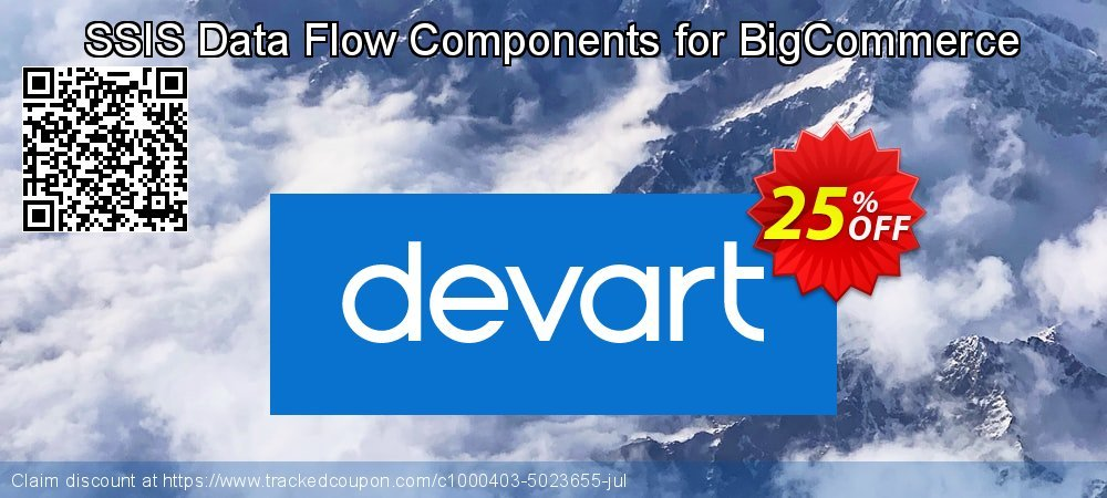 SSIS Data Flow Components for BigCommerce coupon on Valentine Week discounts