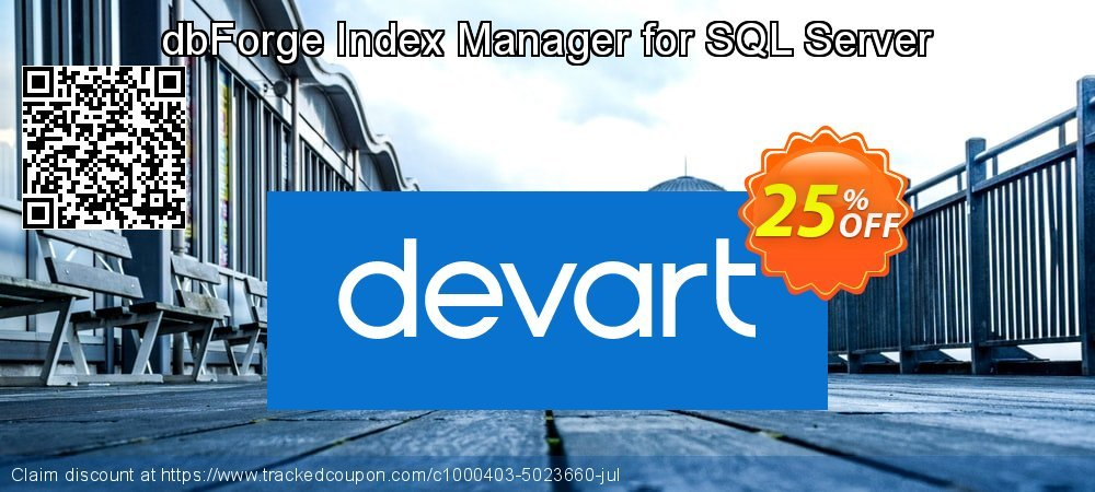 dbForge Index Manager for SQL Server coupon on Int'l. Women's Day offering discount