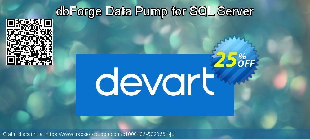 dbForge Data Pump for SQL Server coupon on Read Across America Day offering sales