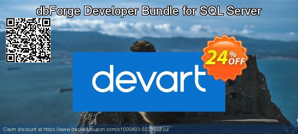 dbForge Developer Bundle for SQL Server coupon on Natl. Doctors' Day super sale