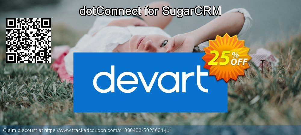 dotConnect for SugarCRM coupon on Back to School shopping offering discount