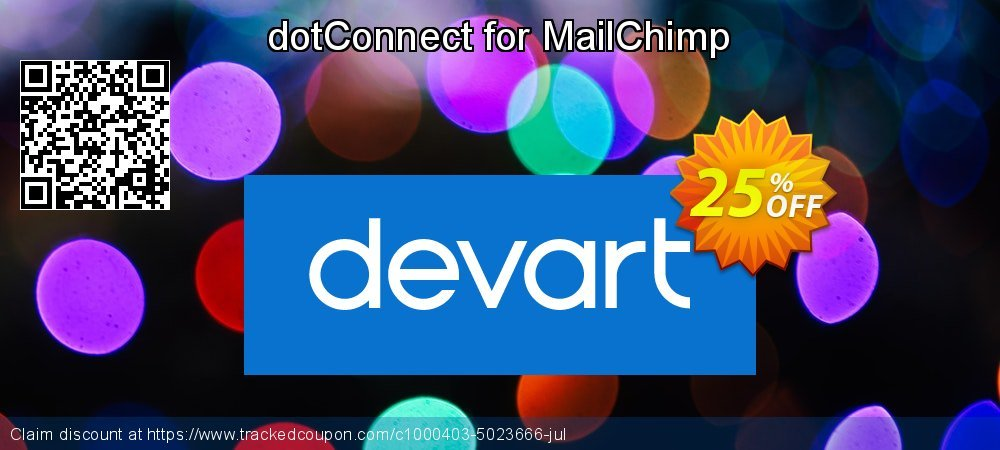 dotConnect for MailChimp coupon on Back to School coupons super sale