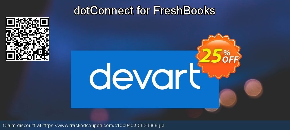 dotConnect for FreshBooks coupon on Student deals sales