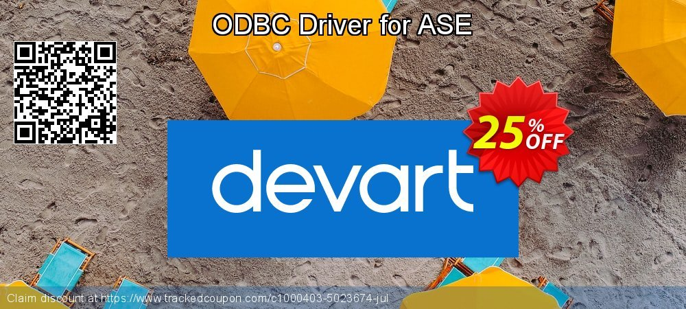 ODBC Driver for ASE coupon on Teacher deals offering sales