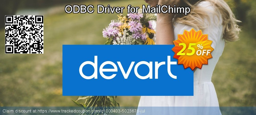 ODBC Driver for MailChimp coupon on Int'l. Women's Day offering discount