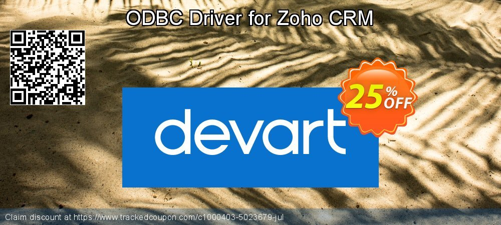 ODBC Driver for Zoho CRM coupon on Back to School promotions deals