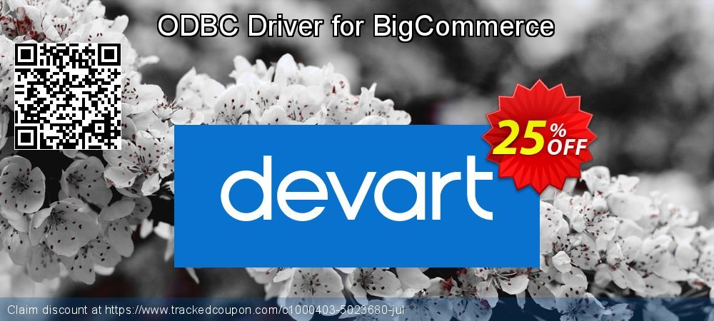 ODBC Driver for BigCommerce coupon on Wildlife month discount