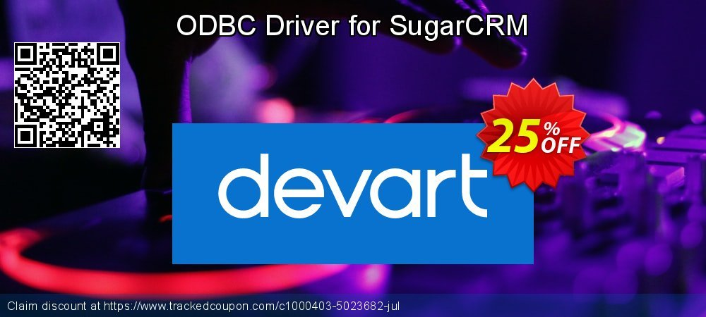 ODBC Driver for SugarCRM coupon on Super bowl discounts