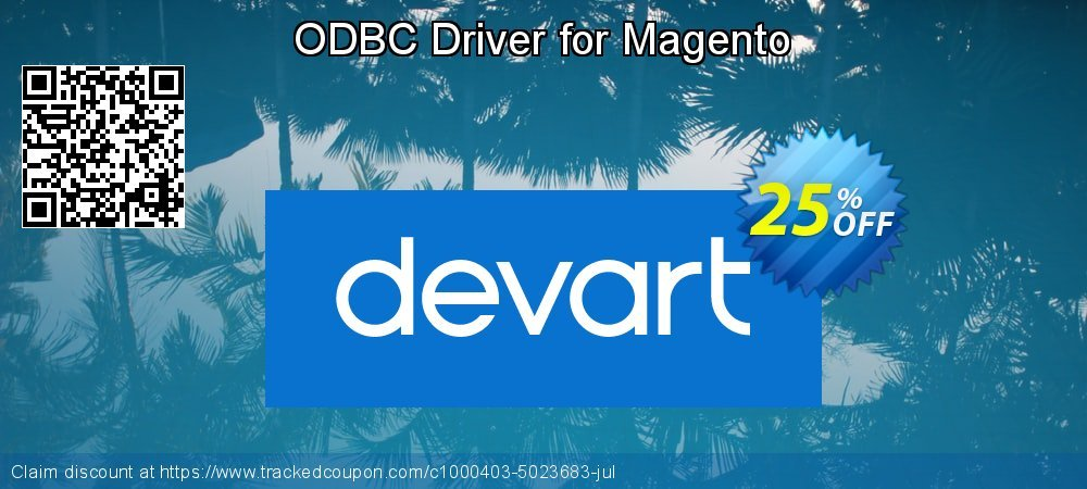 ODBC Driver for Magento coupon on Natl. Doctors' Day sales