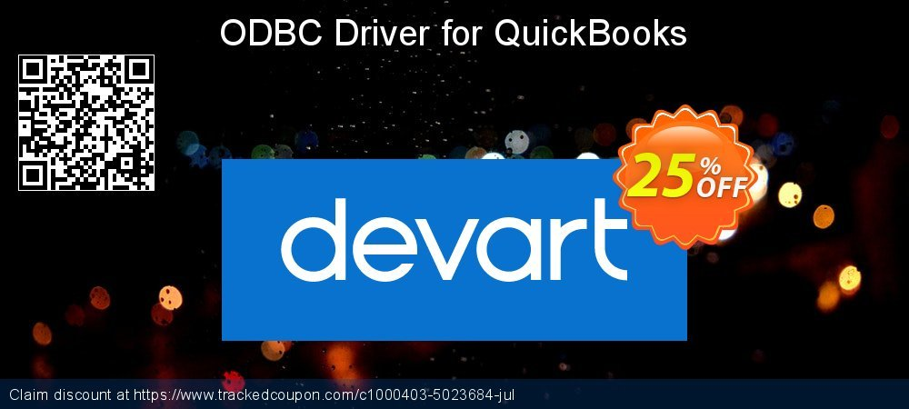 ODBC Driver for QuickBooks coupon on Int'l. Women's Day deals
