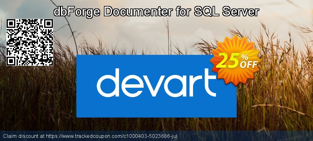 dbForge Documenter for SQL Server coupon on Natl. Doctors' Day discount