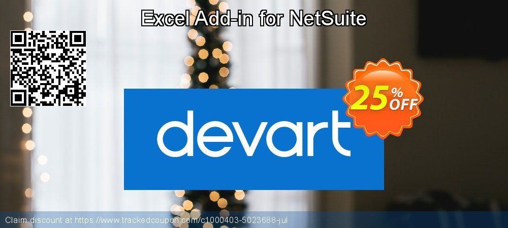 Excel Add-in for NetSuite coupon on Exclusive Teacher discount deals
