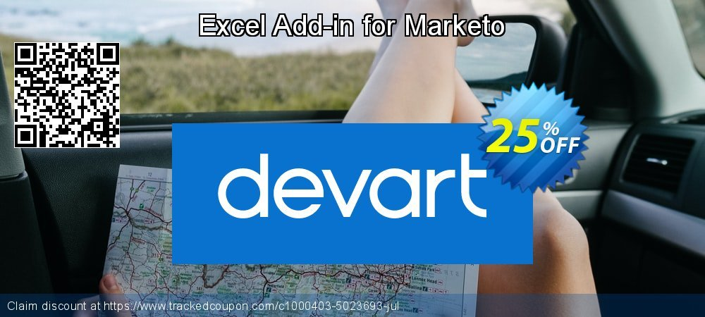 Excel Add-in for Marketo coupon on Back to School discounts