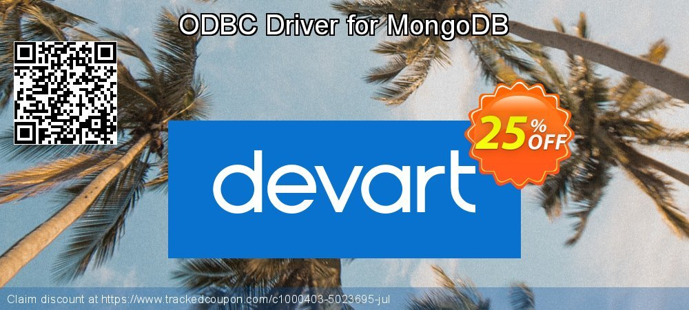 ODBC Driver for MongoDB coupon on Natl. Doctors' Day discount